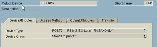 Local Print on SAPGUI for java (Linux - MacOSX): Sap output